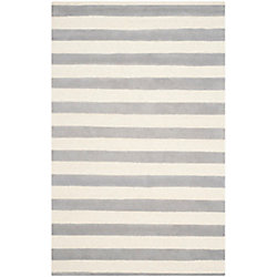 Safavieh Cambridge Kobe Grey / Ivory 6 ft. x 9 ft. Indoor Area Rug