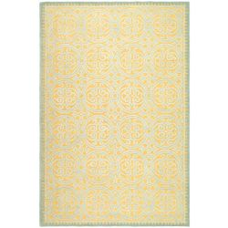 Safavieh Cambridge Samuel Blue / Gold 6 ft. x 9 ft. Indoor Area Rug