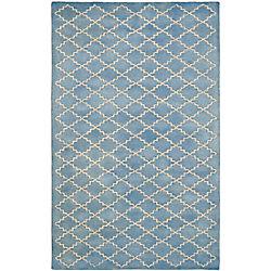 Safavieh Chatham Adam Blue Grey 6 ft. x 9 ft. Indoor Area Rug