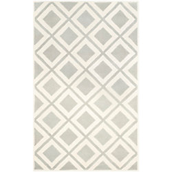 Safavieh Chatham Dom Grey / Ivory 6 ft. x 9 ft. Indoor Area Rug