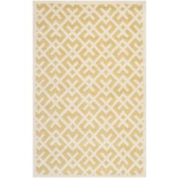 Safavieh Chatham Oakly Light Gold / Ivory 6 ft. x 9 ft. Indoor Area Rug