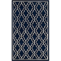 Safavieh Chatham Pascal Dark Blue / Ivory 6 ft. x 9 ft. Indoor Area Rug