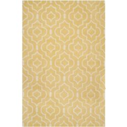 Safavieh Chatham Romain Light Gold / Ivory 6 ft. x 9 ft. Indoor Area Rug