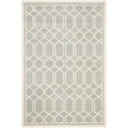 Safavieh Chatham Roy Grey / Ivory 6 ft. x 9 ft. Indoor Area Rug