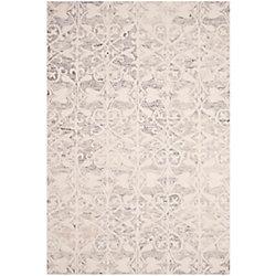 Safavieh Chatham Steven Light Grey / Ivory 6 ft. x 9 ft. Indoor Area Rug