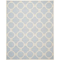 Safavieh Cambridge Colin Light Blue / Ivory 8 ft. x 10 ft. Indoor Area Rug