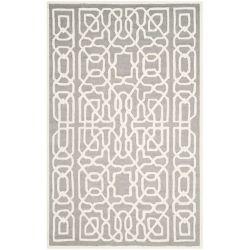 Safavieh Cambridge Victoria Silver / Ivory 8 ft. x 10 ft. Indoor Area Rug
