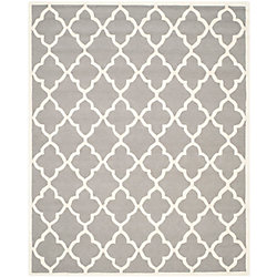 Safavieh Cambridge Virginia Dark Grey / Ivory 8 ft. x 10 ft. Indoor Area Rug