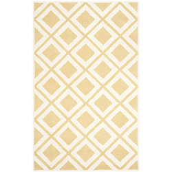 Safavieh Chatham Dom Gold / Ivory 8 ft. x 10 ft. Indoor Area Rug