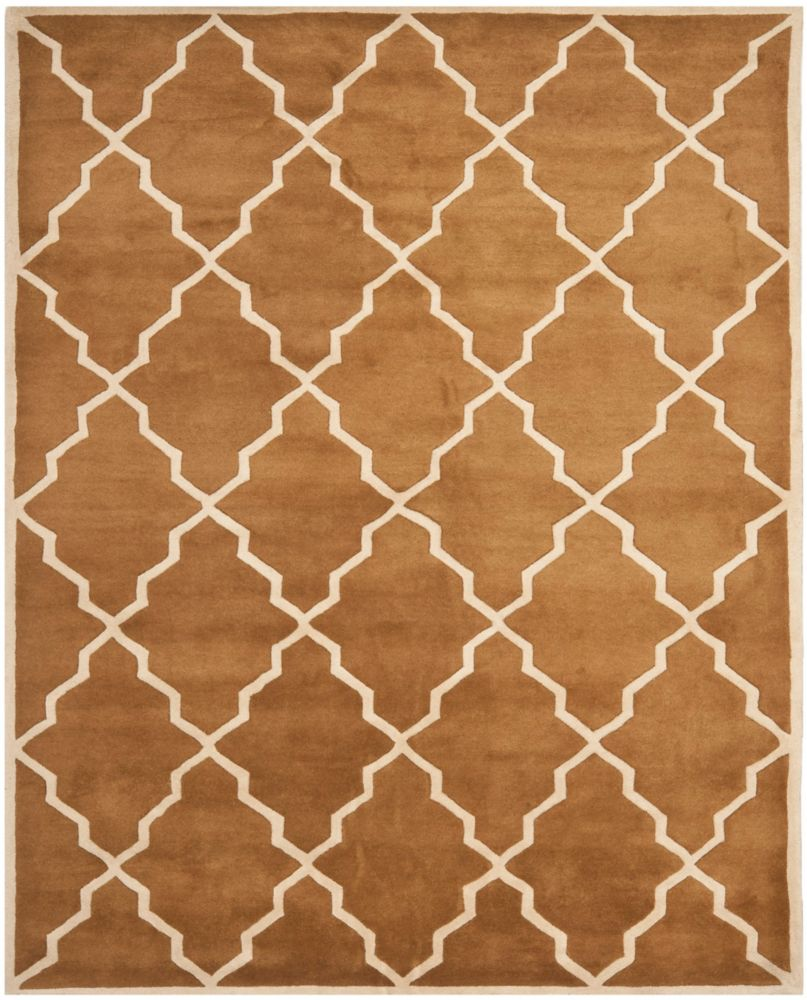 Safavieh Chatham Judy Brown 8 ft. x 10 ft. Indoor Area Rug