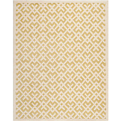 Safavieh Chatham Oakly Light Gold / Ivory 8 ft. x 10 ft. Indoor Area Rug