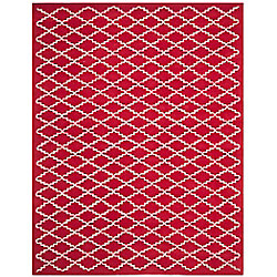 Safavieh Chatham Philip Red / Ivory 8 ft. x 10 ft. Indoor Area Rug