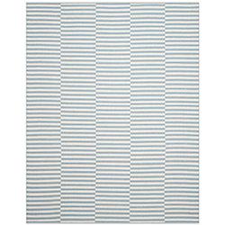 Safavieh Montauk Clark Ivory / Light Blue 8 ft. x 10 ft. Indoor Area Rug