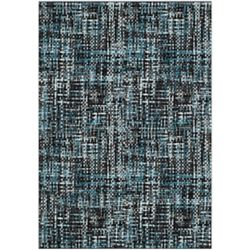 Safavieh Porcello Annie Charcoal / Blue 8 ft. x 10 ft. Indoor Area Rug