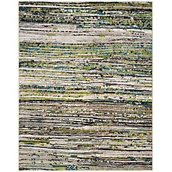 Safavieh Porcello Rufus Cream / Green 8 ft. x 10 ft. Indoor Area Rug