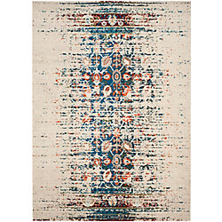 Safavieh Monaco Flynn Ivory / Blue 8 ft. x 11 ft. Indoor Area Rug