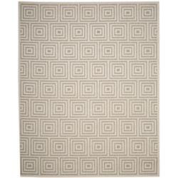 Safavieh Cottage Layton Grey / Cream 4 ft. x 6 ft. Indoor/Outdoor Area Rug