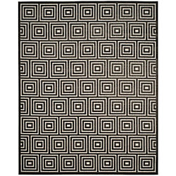 Safavieh Cottage Layton Light Grey / Grey 4 ft. x 6 ft. Indoor/Outdoor Area Rug