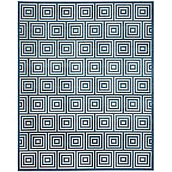 Safavieh Cottage Layton Cream / Light Blue 5 ft. 3-inch x 7 ft. 7-inch Indoor/Outdoor Area Rug