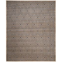 Safavieh Cottage Layton Navy / Cream 5 ft. 3-inch x 7 ft. 7-inch Indoor/Outdoor Area Rug