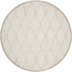 Safavieh Cambridge Georgia Light Grey / Ivory 6 ft. x 6 ft. Indoor Round Area Rug