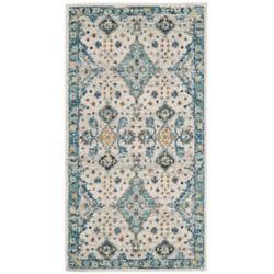 Safavieh Evoke Isadora Ivory / Light Blue 2 ft. 2-inch x 4 ft. Indoor Area Rug