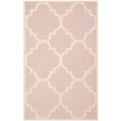 Safavieh Cambridge Amias Light Pink / Ivory 2 ft. 6-inch x 4 ft. Indoor Area Rug