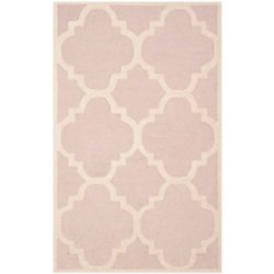 Safavieh Cambridge Amias Light Pink / Ivory 2 ft. 6-inch x 4 ft. Indoor Area Rug