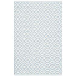 Safavieh Montauk Cole Ivory / Light Blue 2 ft. 6-inch x 4 ft. Indoor Area Rug