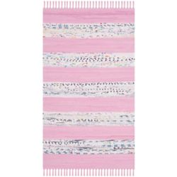 Safavieh Montauk Isla Ivory / Light Pink 2 ft. 6-inch x 4 ft. Indoor Area Rug