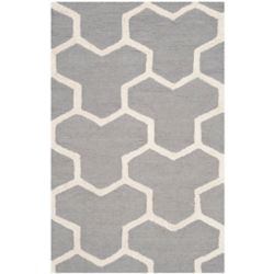 Safavieh Cambridge Angella Silver / Ivory 2 ft. x 3 ft. Indoor Area Rug