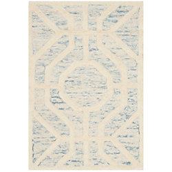 Safavieh Cambridge Brady Light Blue / Ivory 2 ft. x 3 ft. Indoor Area Rug