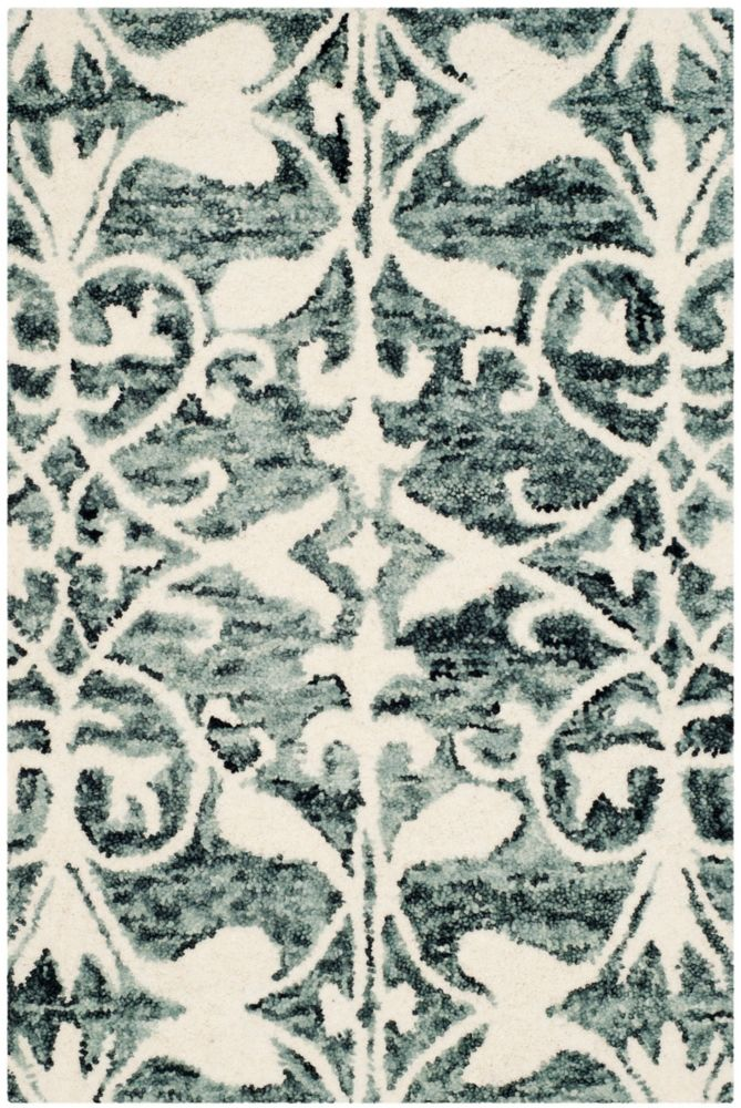 Safavieh Chatham Steven Charcoal / Ivory 2 ft. x 3 ft. Indoor Area Rug