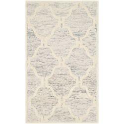 Safavieh Cambridge Timmy Light Grey / Ivory 3 ft. x 5 ft. Indoor Area Rug