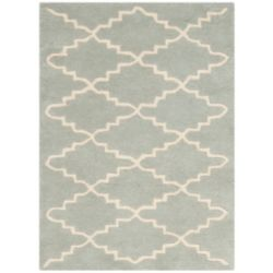 Safavieh Chatham Philip Light Blue / Ivory 3 ft. x 5 ft. Indoor Area Rug