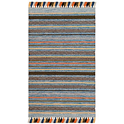 Safavieh Montauk Linnaea Blue / Multi 3 ft. x 5 ft. Indoor Area Rug
