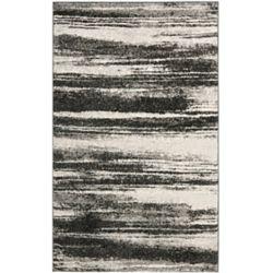 Safavieh Retro Aisha Dark Grey / Light Grey 3 ft. x 5 ft. Indoor Area Rug