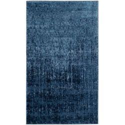 Safavieh Tapis d'intérieur, 3 pi x 5 pi, Retro Lina, gris clair / bleu