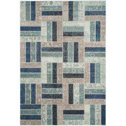 Safavieh Monaco Puck Grey / Blue 4 ft. x 5 ft. 7-inch Indoor Area Rug