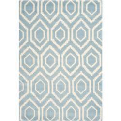 Safavieh Chatham Beau Blue / Ivory 4 ft. x 6 ft. Indoor Area Rug
