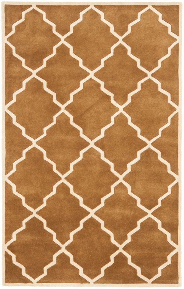 Safavieh Chatham Judy Brown 4 ft. x 6 ft. Indoor Area Rug