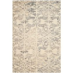 Safavieh Chatham Steven Light Grey / Ivory 4 ft. x 6 ft. Indoor Area Rug