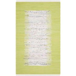 Safavieh Montauk Delroy Ivory / Citron 4 ft. x 6 ft. Indoor Area Rug