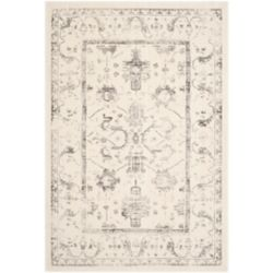 Safavieh Porcello Imani Ivory / Light Grey 5 ft. 3-inch x 7 ft. 7-inch Indoor Area Rug