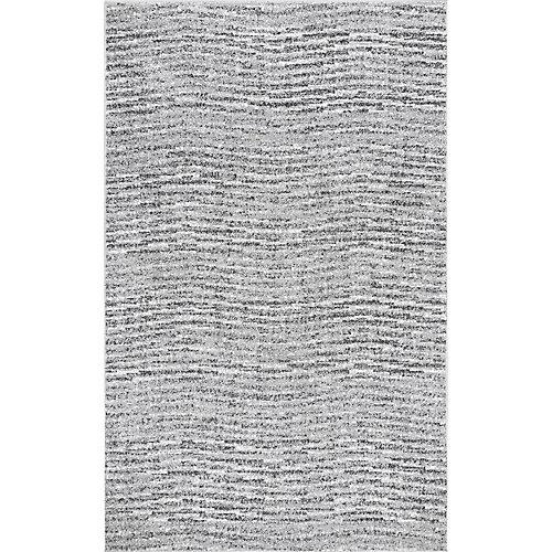 Tapis d'intérieur, 5 pi x 8 pi, Sherill, gris