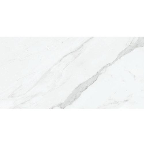 Carreaux, 12 po x 24 po, porcelaine polie rectifiée HD, Vera Carrara, 15,5 pi2/caisse