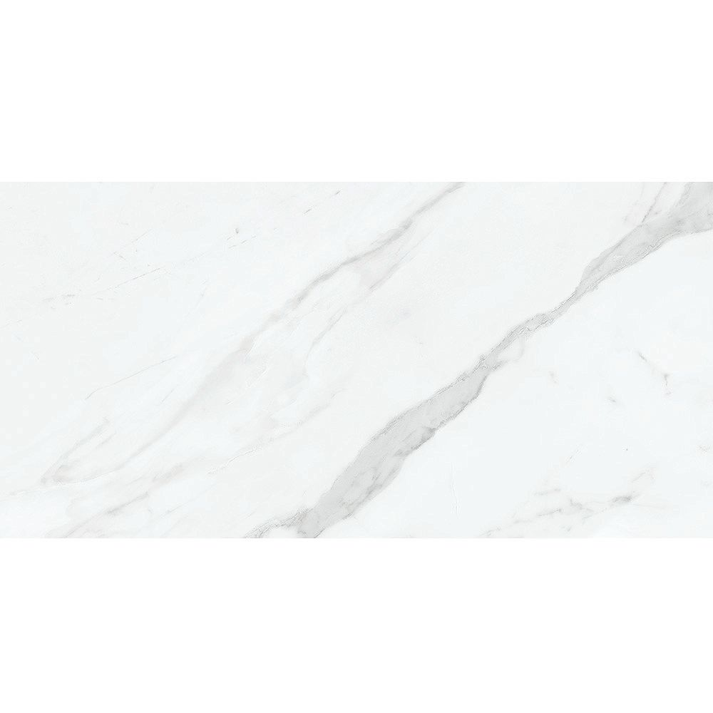Enigma Vera Carrara 12-inch x 24-inch HD Polished Rectified Porcelain Tile (15.5 sq.ft. / case)
