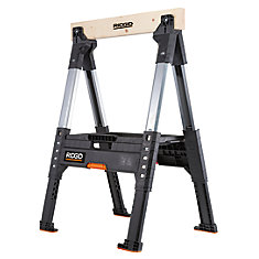 32 inch Adjustable Folding Sawhorse