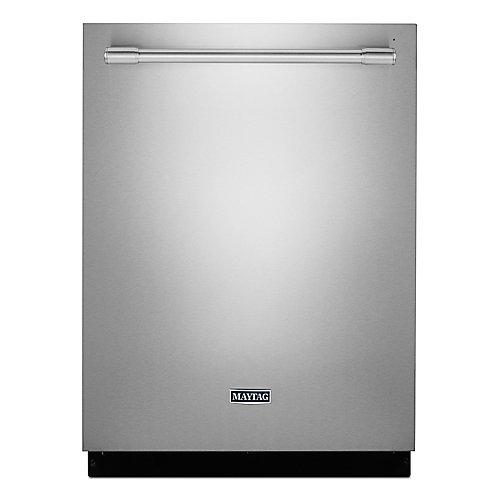 Lave-vaisselle à cuve haute encastrée à commande supérieure en acier inoxydable avec cuve en acier inoxydable, 47 dBA - ENERGY STAR