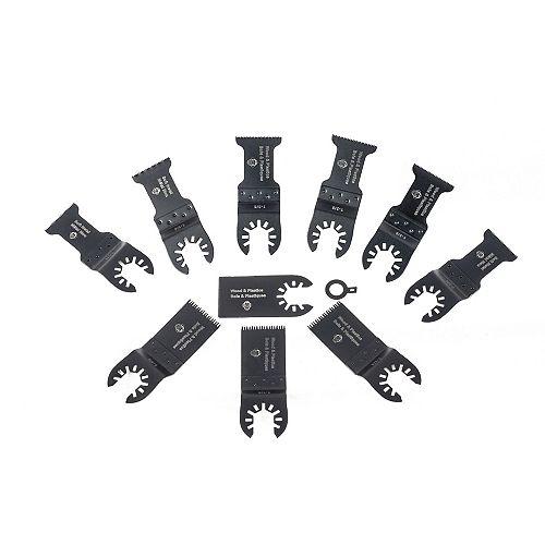 Anvil 10-Piece Oscillating Tool Accessory Set